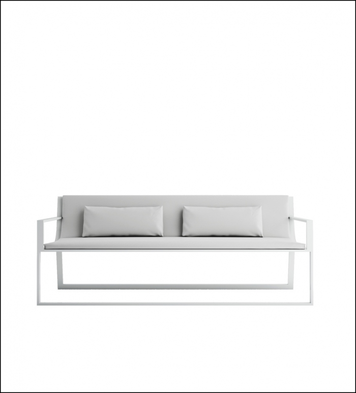 blau white sofa product image 1 1 700x773 - Sofa Blau - Gandia Blasco
