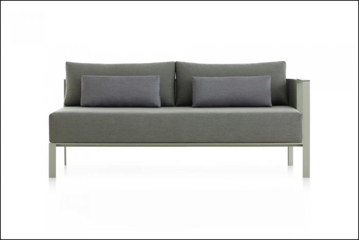 solanas sectional sofa 1 cement grey 1 1 700x469 - Sofa Solanis - Gandia Blasco