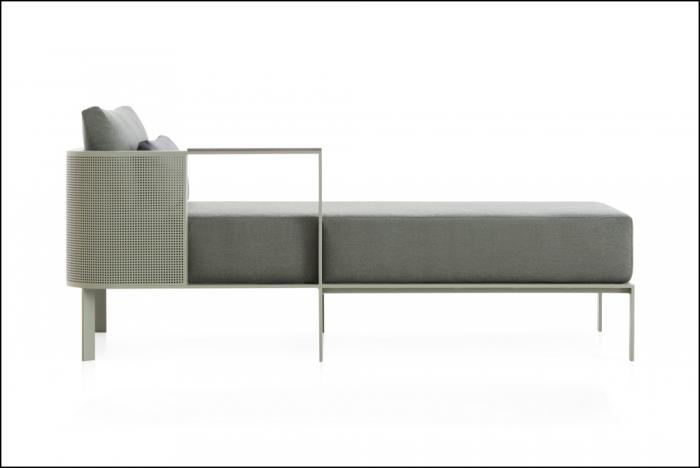 solanas sectional sofa 2 cement grey 1 1 700x468 - Sofa Solanis Modul - Gandia Blasco