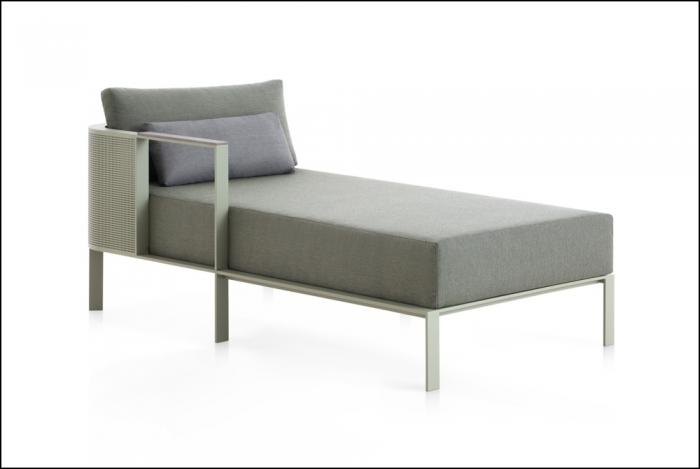 solanas sectional sofa 2 cement grey 2 1 700x469 - Sofa Solanis Modul - Gandia Blasco