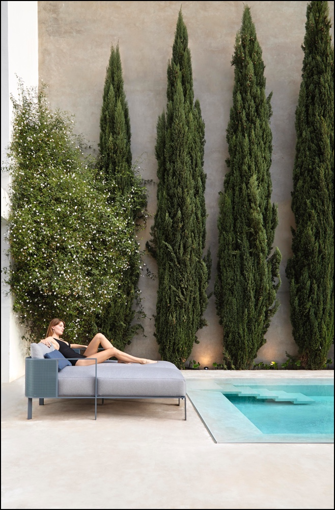 solanas sectional sofas 2 blue grey 1 - Sofa Solanis Modul - Gandia Blasco