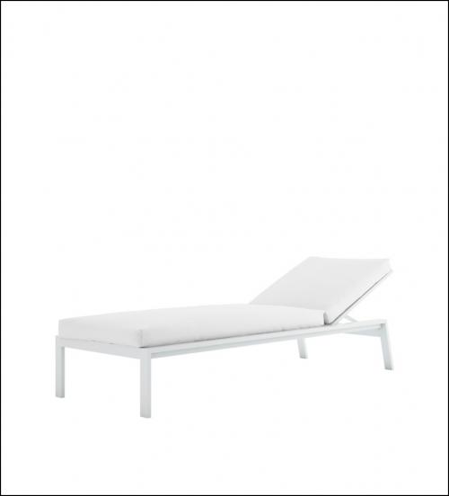 timeless chaiselongue white 2 500x552 - Liege Timeless - Gandia Blasco