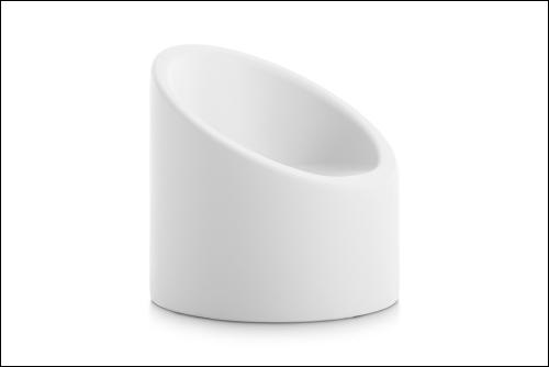 Lipstick armchair white 500x334 - Stuhl Lipstick - Diabla