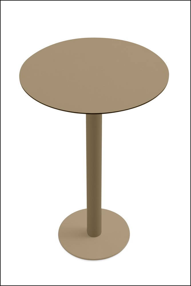 Mona high table bronze - Hoher Tisch Mona - Diabla