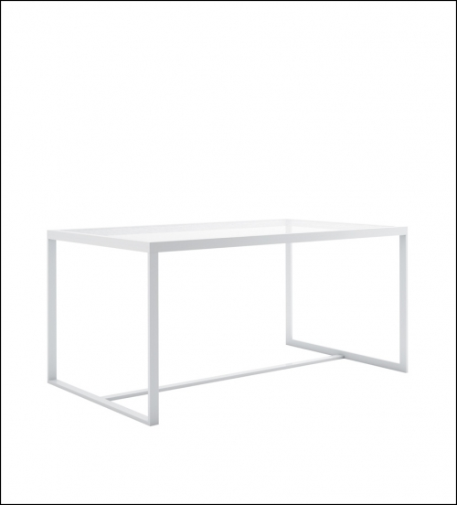 blau white high table 150 product image 2 500x552 - Hoher Tisch Blau - Gandia Blasco