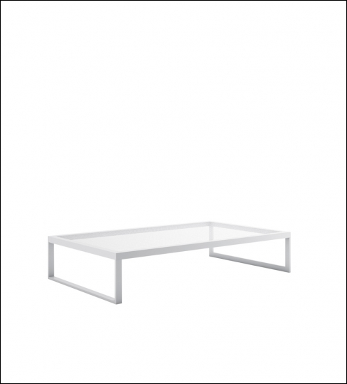blau white low table 150x90 product image 2 500x552 - Niedriger Tisch Blau - Gandia Blasco