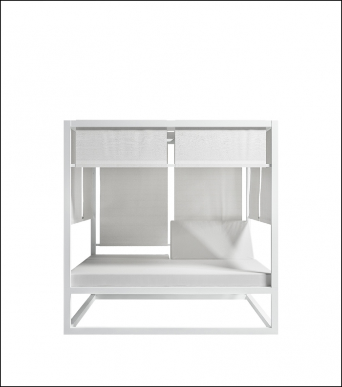 daybed white 1 700x792 - Tagesbett - Gandia Blasco
