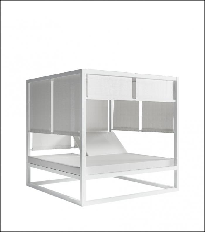 daybed white 2 700x792 - Tagesbett - Gandia Blasco