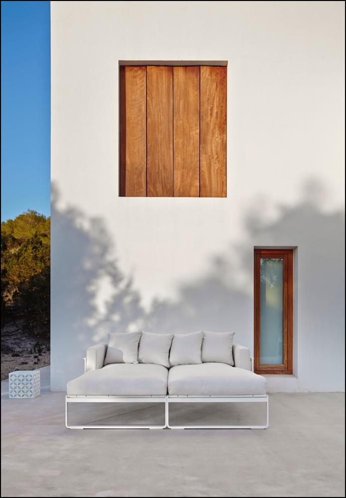 flat modular sofa 2 ambience image - Tagesbett Flat - Gandia Blasco
