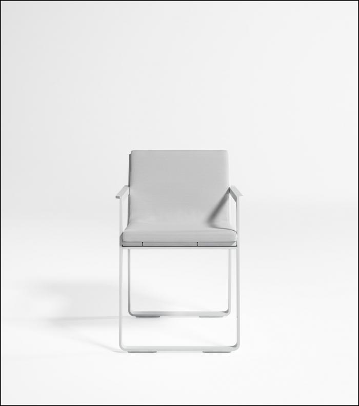 flat white chair product image 1 700x792 - Stuhl Flat - Gandia Blasco