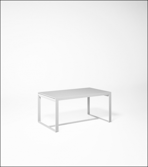 flat white high table 150 product image 2 500x566 - Hoher Tisch Flat - Gandia Blasco